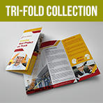 Logistic Services Tri-Fold Brochure Template Vol2 - 1