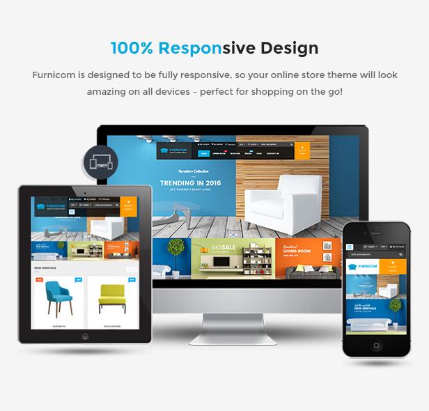 Responsive Magento 2.0 Theme - Fully Responsive