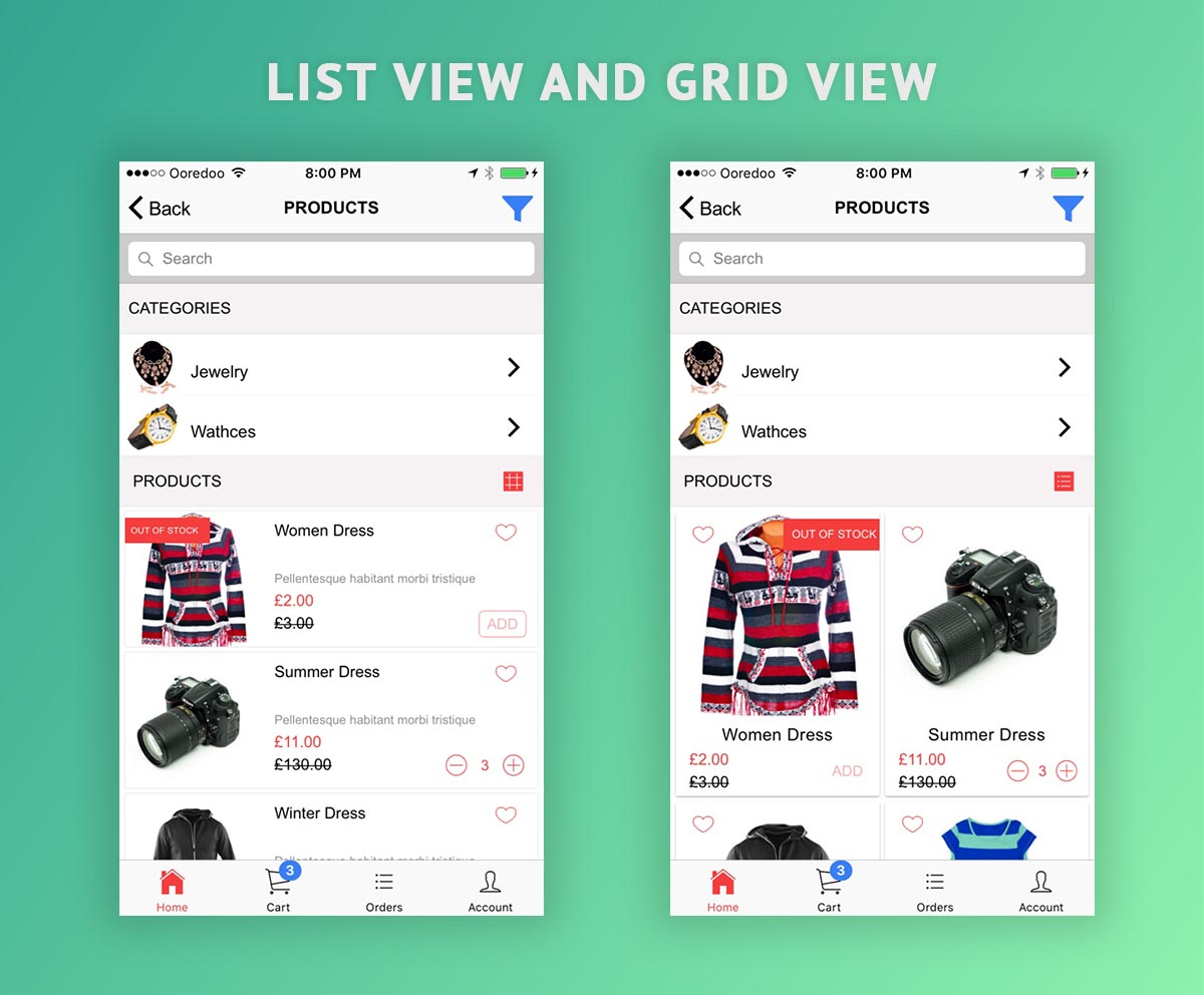 Ionic 3 tab App for WooCommerce Nulled Free Download   INULLED