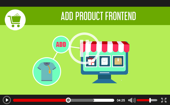 Add product frontend for WooCommerce - 1