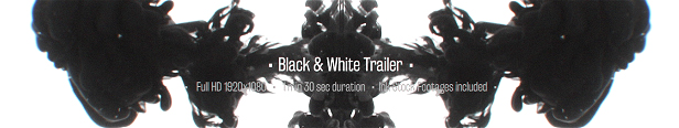 Black & White Ink Trailer