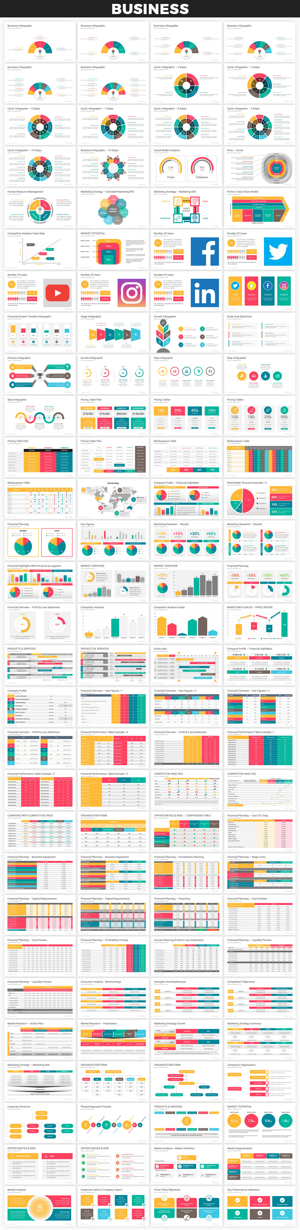 Infographics PowerPoint Bundle - 14