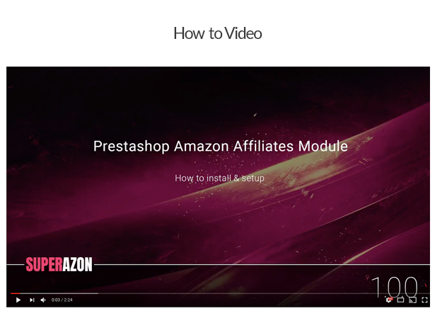 WZone for Prestashop - Amazon Affiliates Module - 2