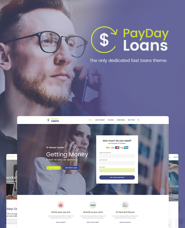 Payday Loans For Insurance broker