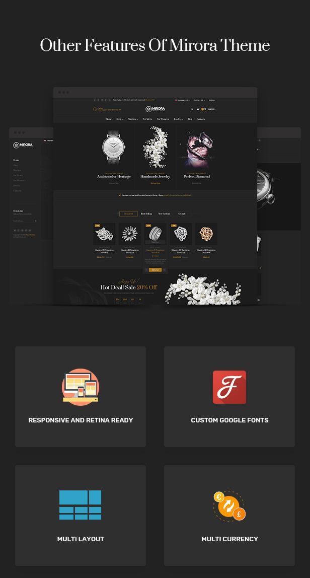 Mirora - Watch & Jewelry Store Shopify Theme