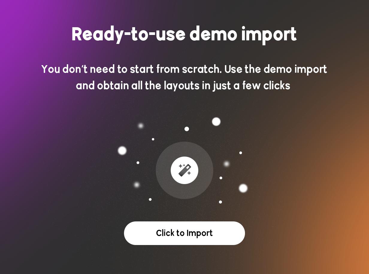BRIKK - listing and directory WordPress theme - demo import