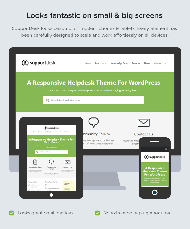 SupportDesk - A Responsive Helpdesk Theme by HeroThemes | ThemeForest