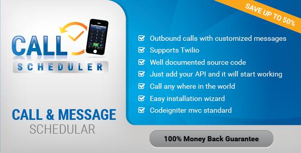 Wordpress Twilio Calls And SMS Scheduler Plugin