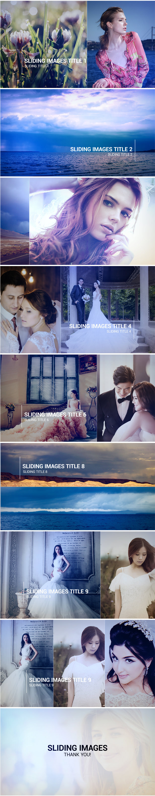 Slideshow Photo Gallery After Effects Template