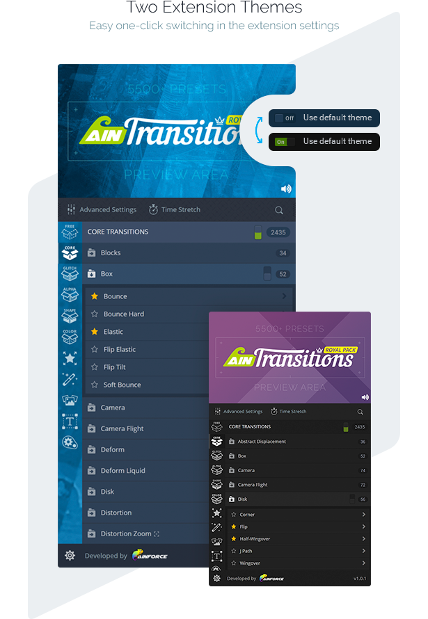 AinTransitions   Ultimate Multipurpose Transitions Pack - 16