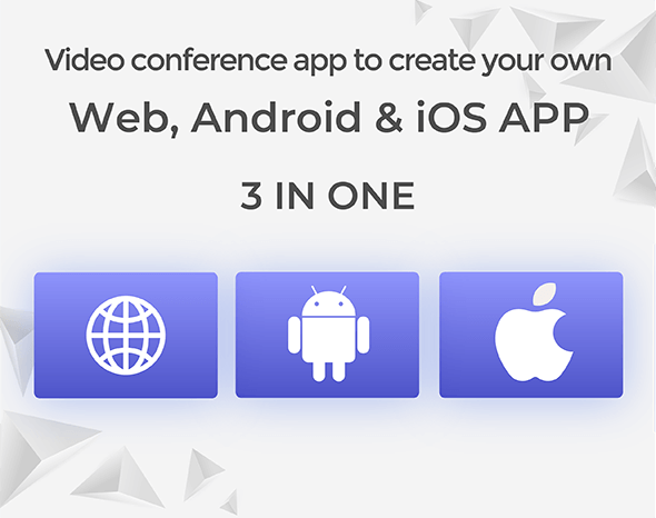 MeetAir - iOS and Android Video Conference App for Live Class, Meeting, Webinar, Online Training - 5