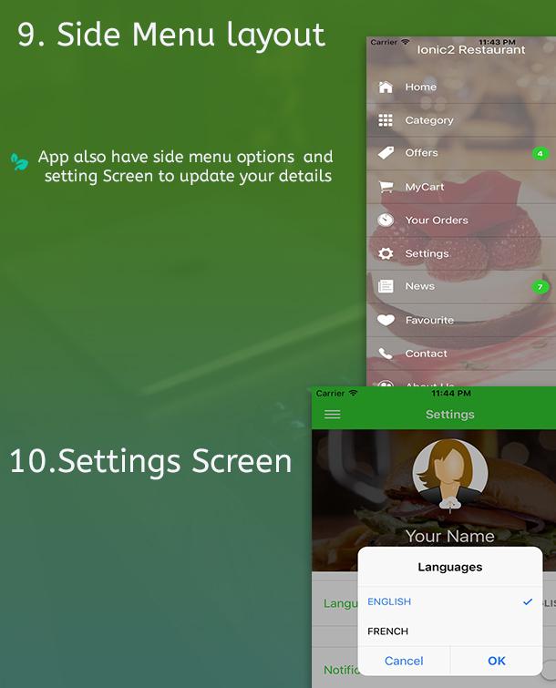 Ionic 3 Restaurant app with Firebase - 11
