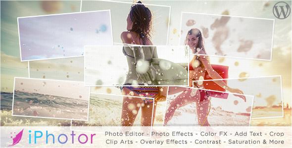 iPhotor - WordPress Photo Editor Plugin
