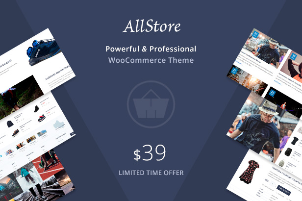 AllStore premium and super powerful ecommerce shop WordPress theme for WooCommerce