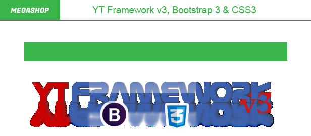 Megashop- YT Framework v3