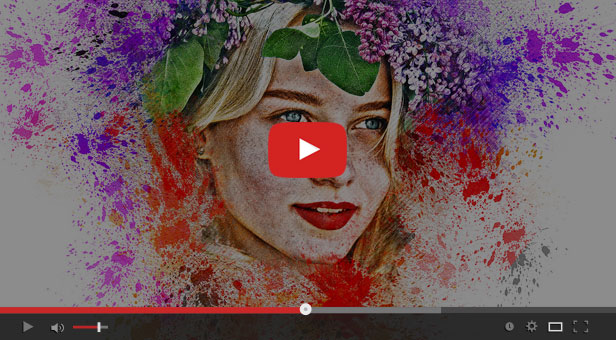 Watercolor Painting Photoshop Action - 2