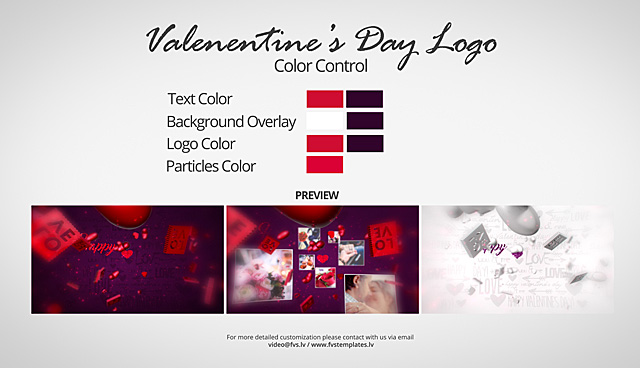 Valentine's Day Logo 3in1 - 5