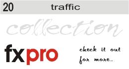 Wet Busy Street Traffic - 1
