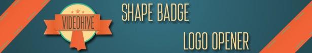 Shape Badge Logo Opener