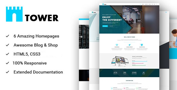 Origin - Minimal and Creative for Multipurpose Psd Template
