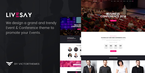 Livesay - Event & Conference WordPress Theme