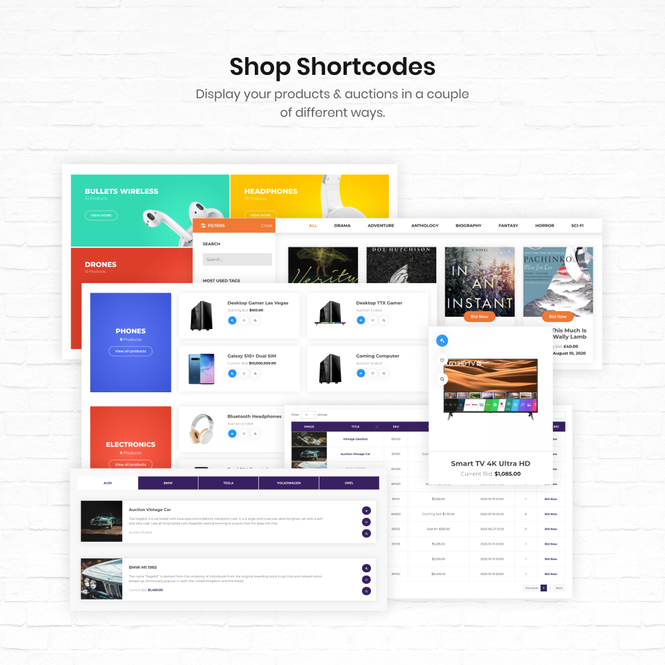 iBid - Multi Vendor Auctions WooCommerce Theme - 32