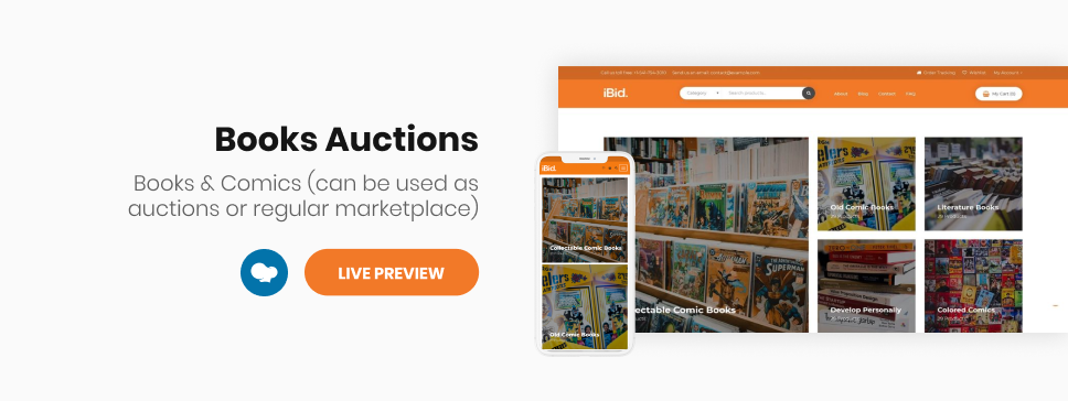 iBid - Multi Vendor Auctions WooCommerce Theme - 13