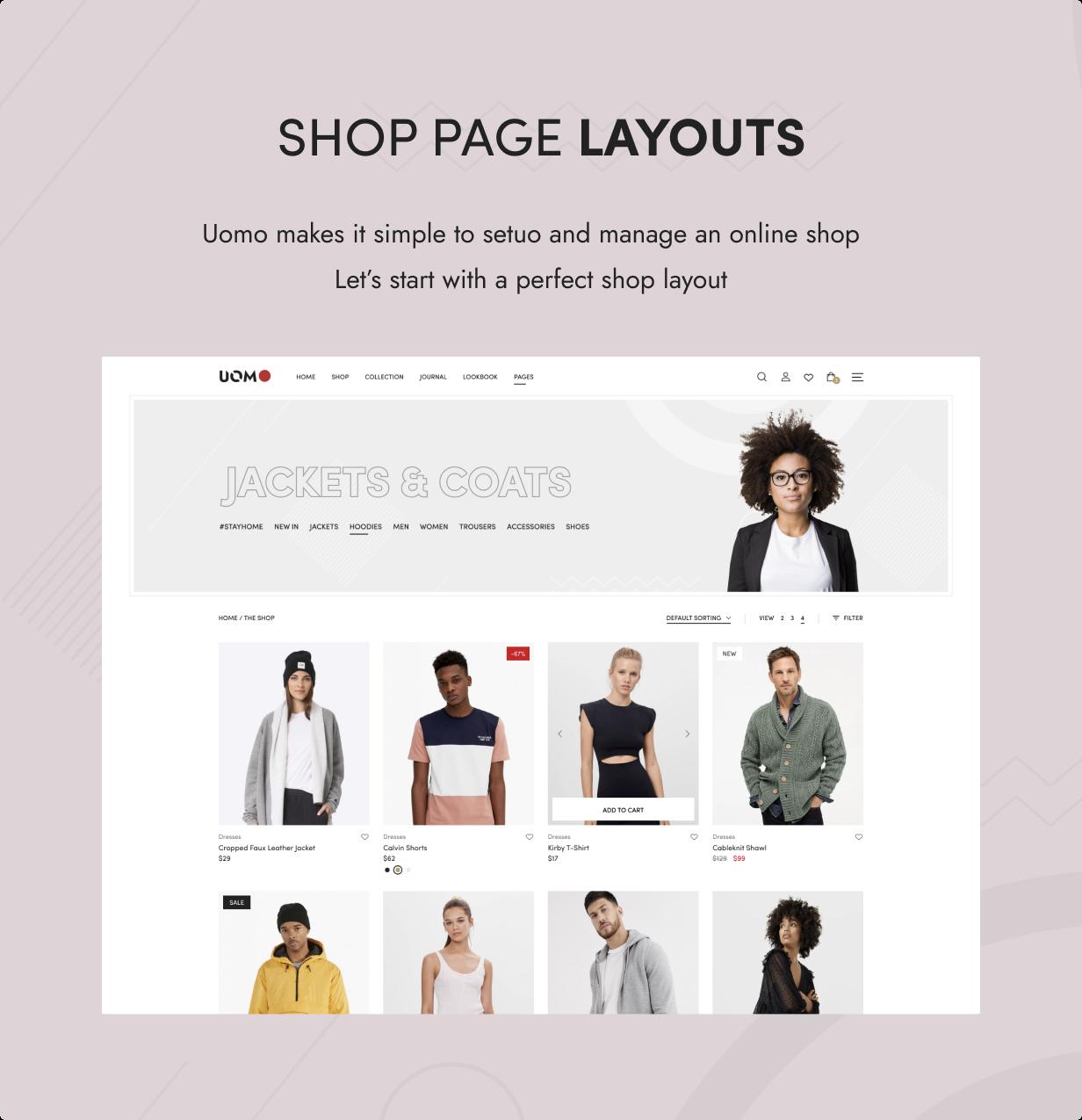 Uomo - Tema WordPress multipropósito para WooCommerce - 7