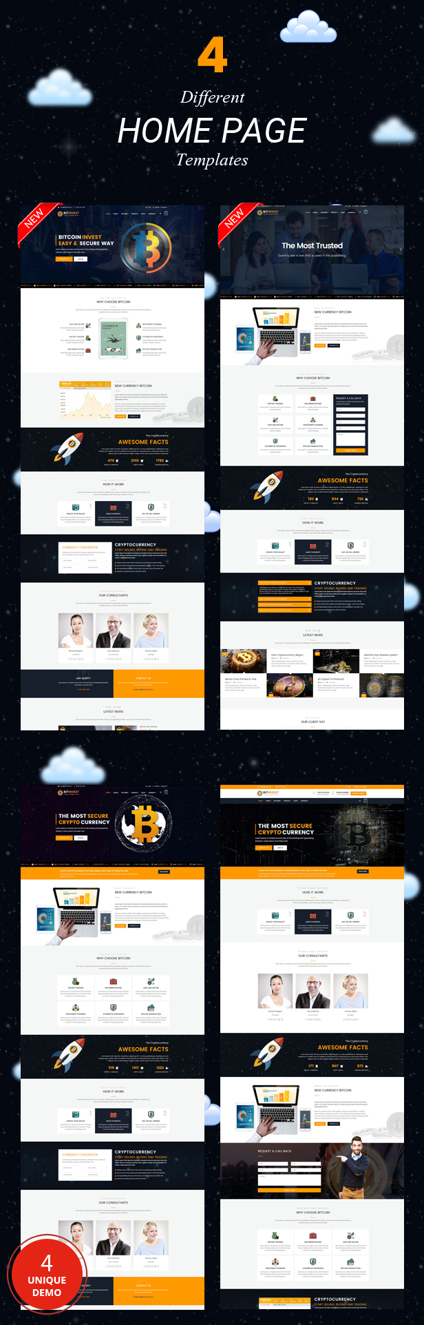 Bitcoin Crypto Currency Template - 2