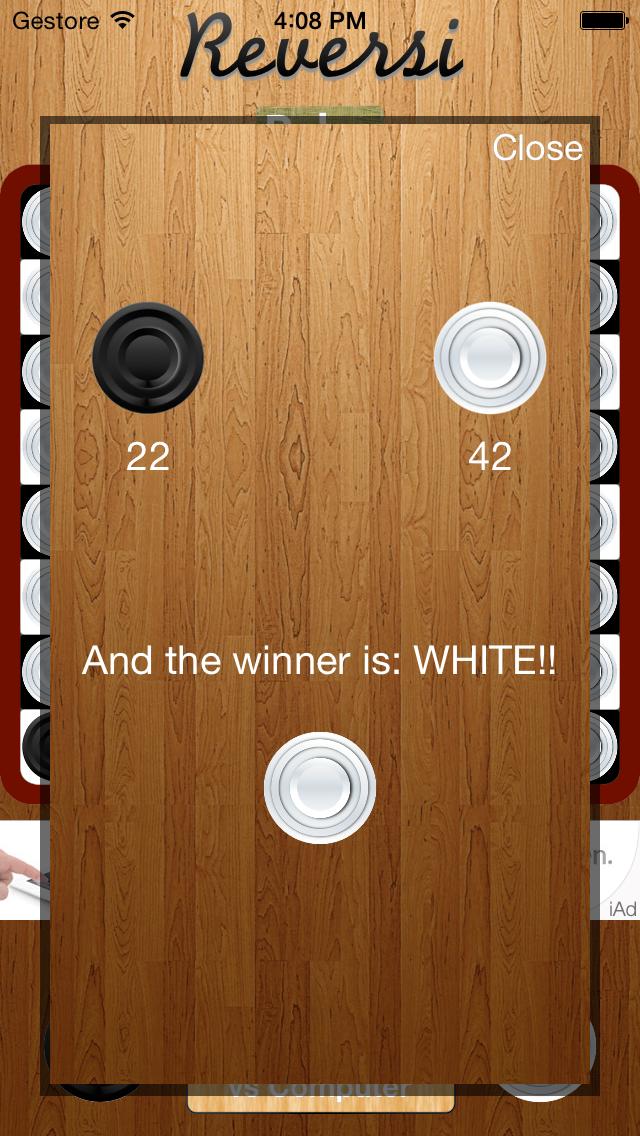 Reversi - Universal iOS App + iAd + AdBuddiz - 1