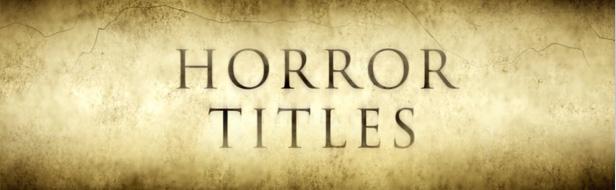 """""""Horror"""