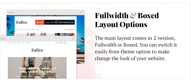 Falive - Beautiful Creative & Fashion Blog Theme - 6