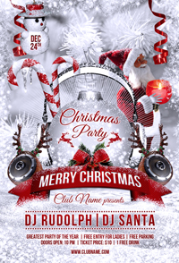 New Year Party Flyer Template - 11