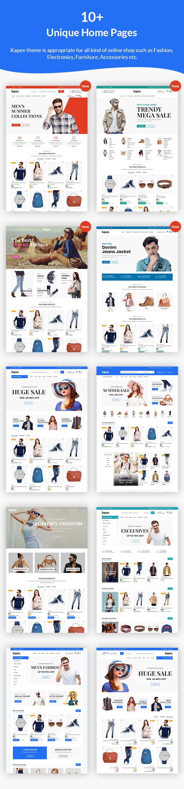 Kapee - Fashion Store WooCommerce Theme 2