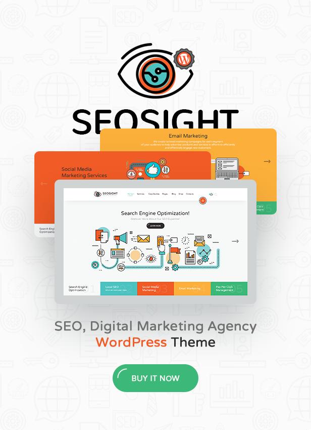 Seosight SEO Digital Marketing Agency HTML Template By Crumina - Social media marketing email templates