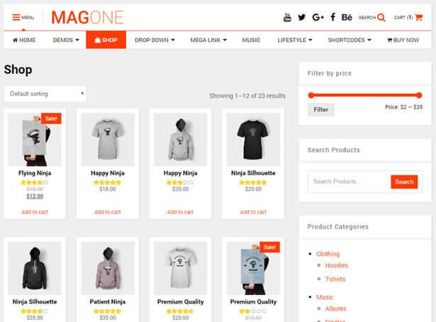 WooCommerce Shopping Ready News WordPress Theme