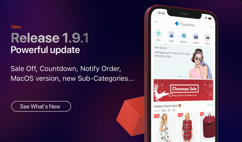 Fluxstore Pro - Flutter E-commerce Full App for Magento, Opencart, and Woocommerce - 3