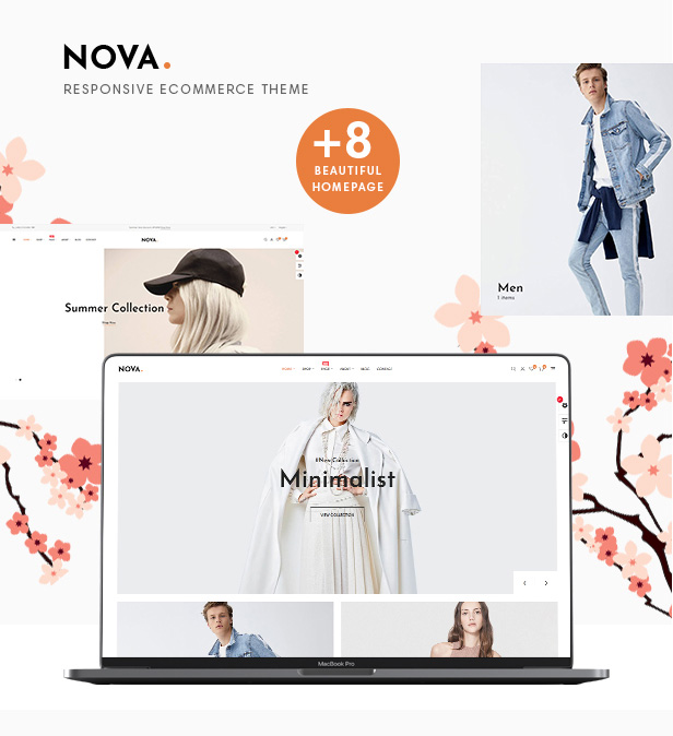 Nova Fashion Store prestashop 1.7 themes