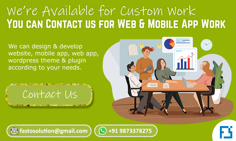 fasto solution web and mobile app development services