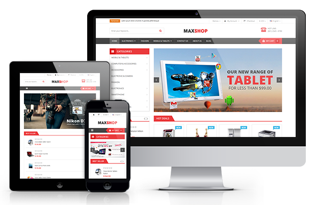 Maxshop- Fully Responsive