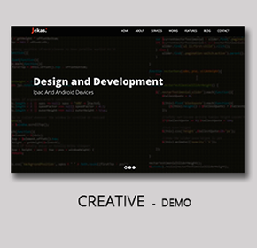 Software, Technology & Business Bootstrap Html Template - Jekas - 8