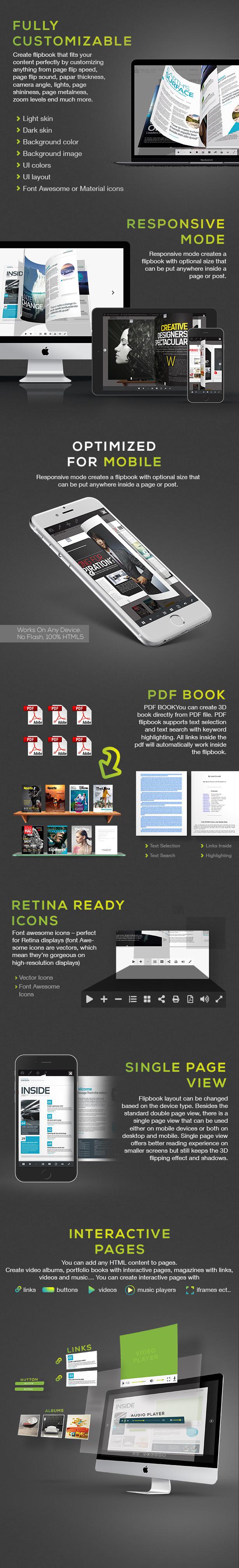 افزونه Real3D FlipBook