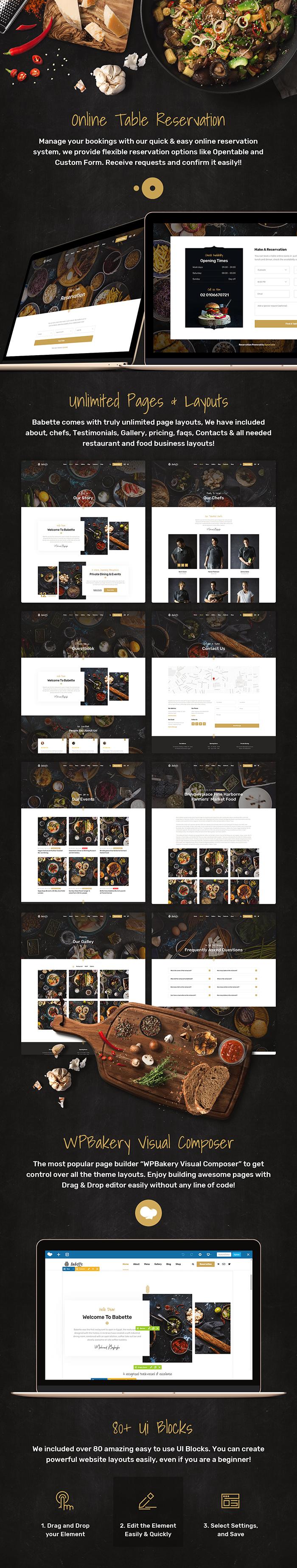 Babette - Restaurant & Cafe WordPress Theme - 8