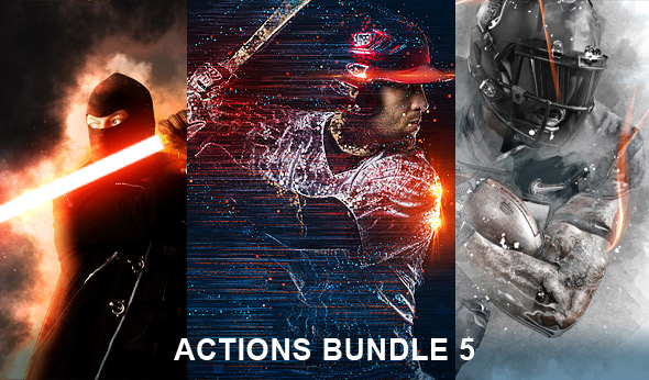 Photoshop actions bundle 5