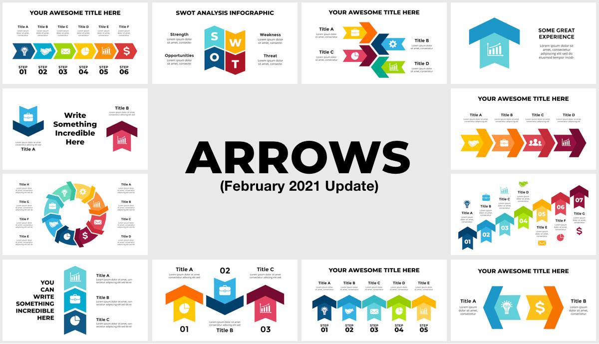 Huge Infographics Bundle! Lifetime Updates! PowerPoint, Photoshop, Illustrator. - 237