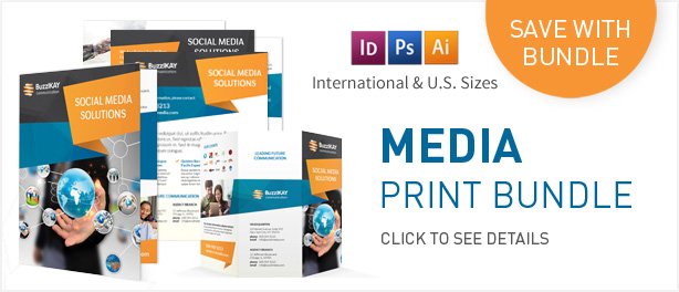 Media and Communication Trifold Brochure - 1