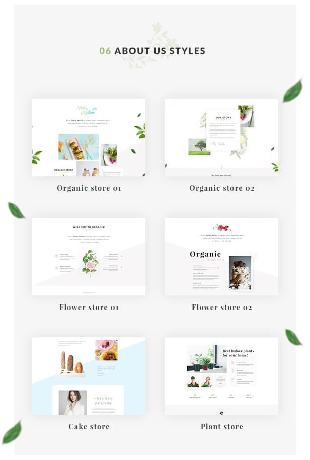 Organie - A Delightful Organic Store eCommerce Prestashop Theme V1.6 & V1.7.2.x