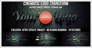 Cinematic Logo Transform