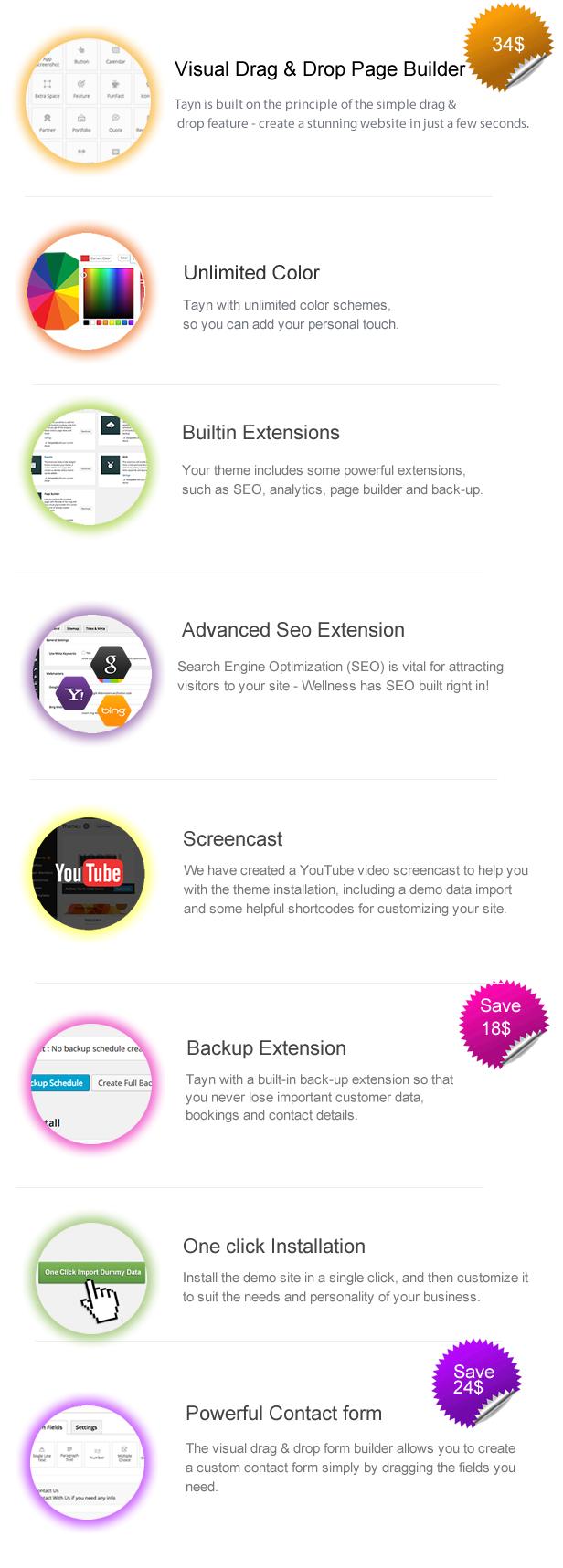 Tayn - Resume / CV / vCard WordPress Theme