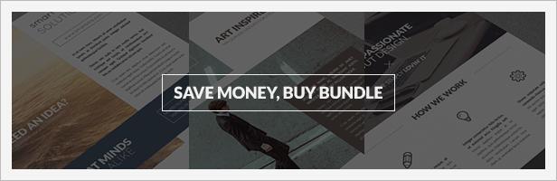 Bundle 3x Clean Corporate Multipurpose Flyers